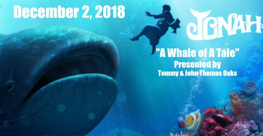 A Whale of a Tale Fundraiser Banquet First Show