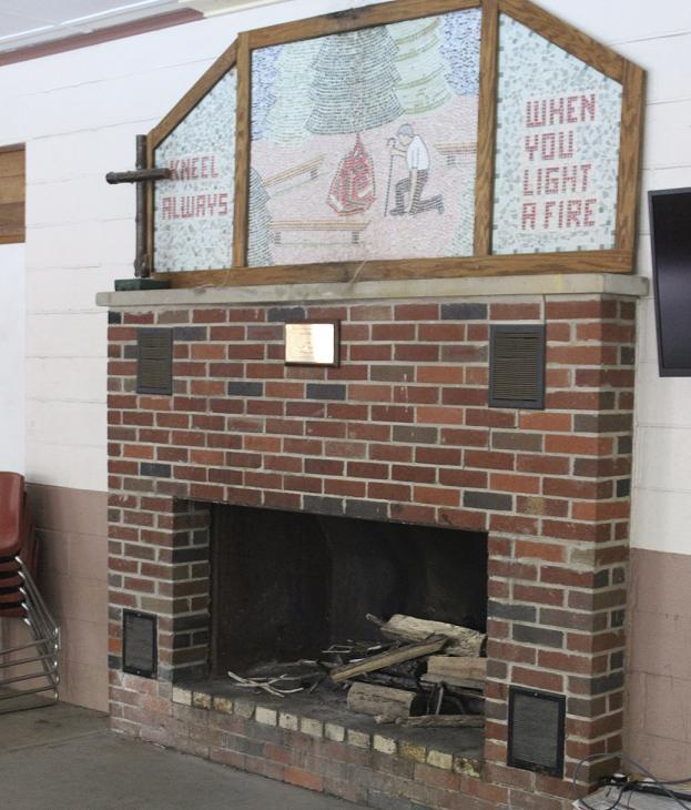 Wallace Hall Fireplace