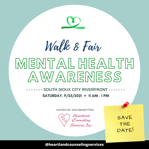 Join us on Saturday, September 25th for our annual FREE Mental Health Awareness Walk & Fair! ... Now accepting sponsors, vendors, & registrations!