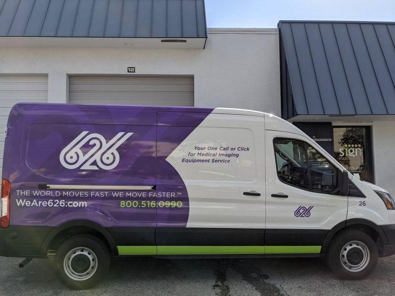 Partial Car Wraps - Sign Partners Boca Raton