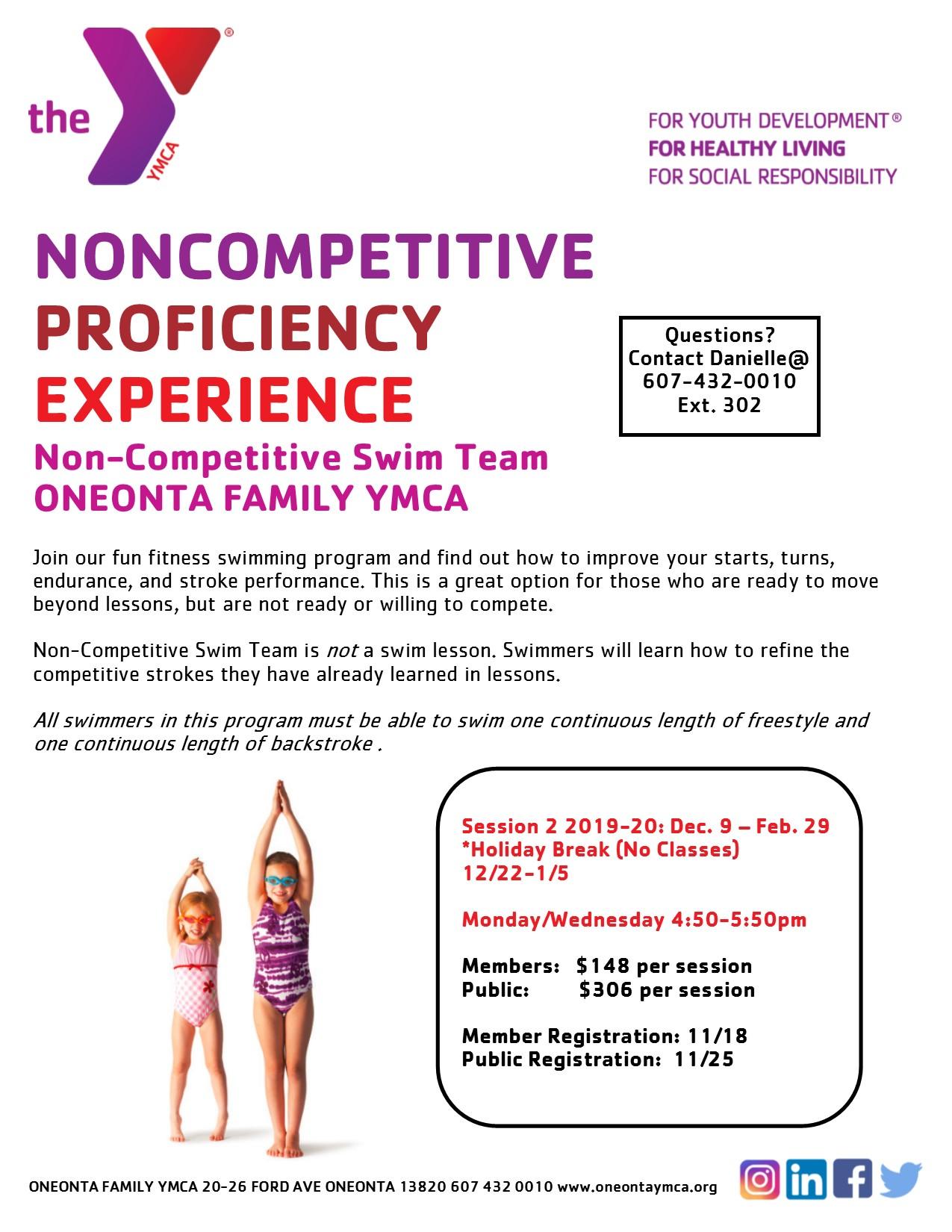 Non-Competitive Swim Team