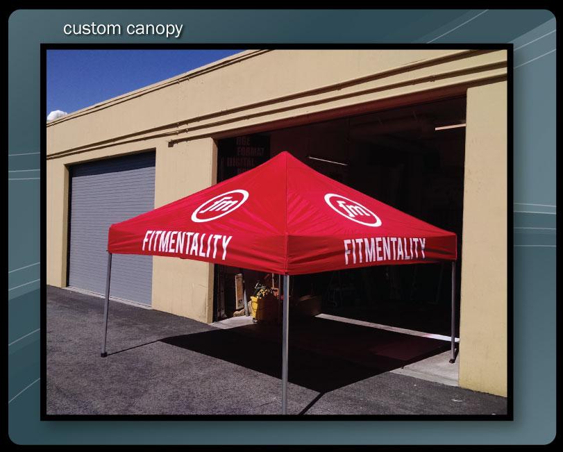 custom canopy