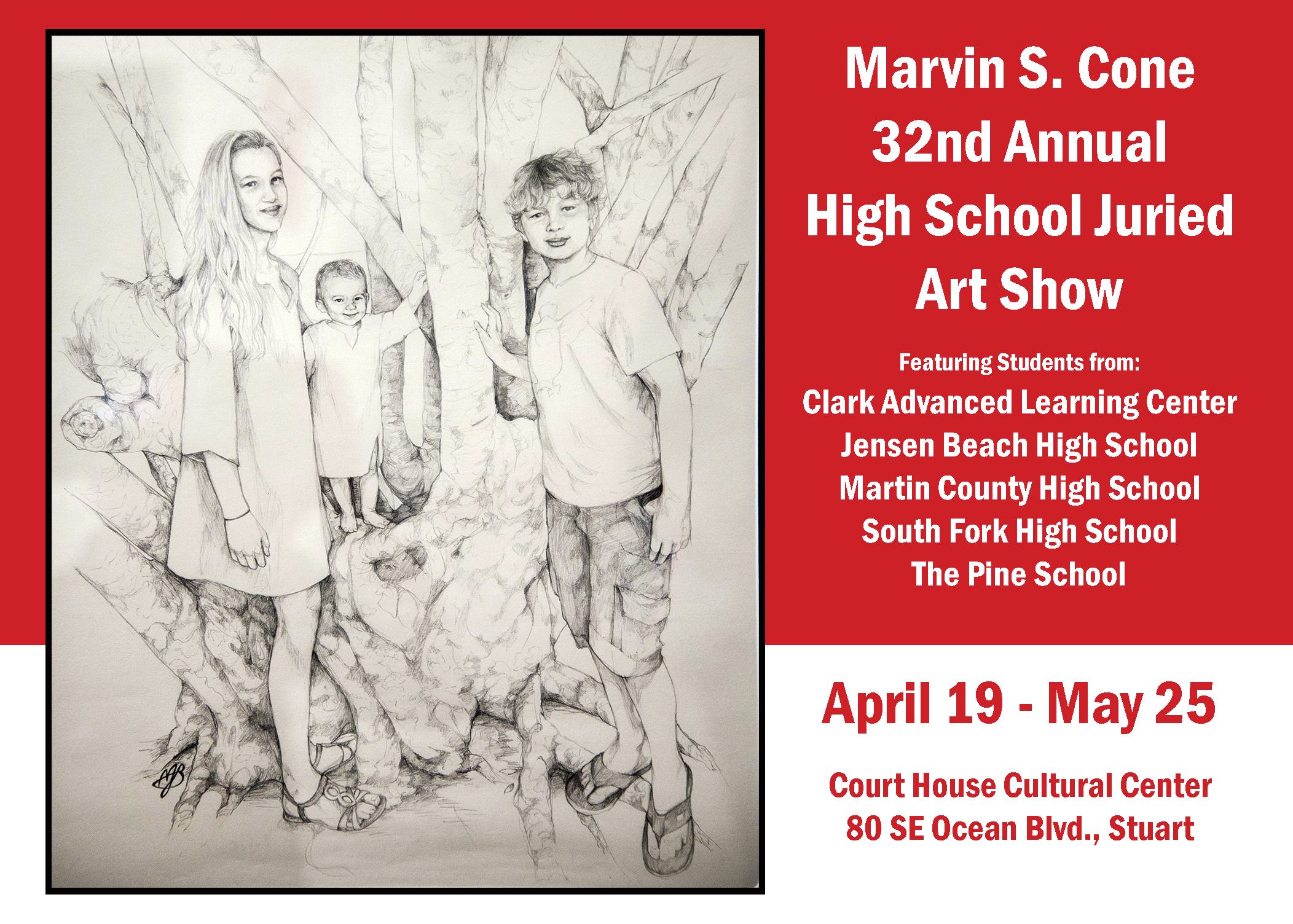 Marvin S Cone 32nd Annual High School Juried Art Show