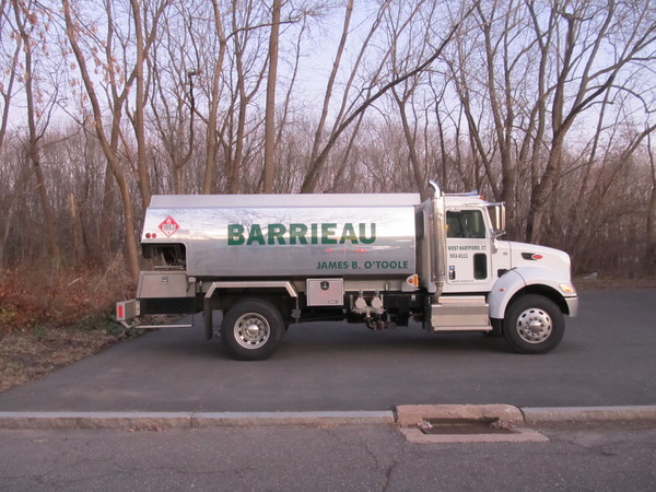 Fleet Graphics, Oil Delivery Truck, Lettering & Logo Graphics