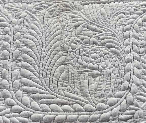 Bedcover, IQSCM 2005.018.0011, Detail, Giraffe