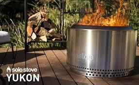 "Solo Stove 27"" Yukon Outdoor Firepit ($500 Retail Value)"