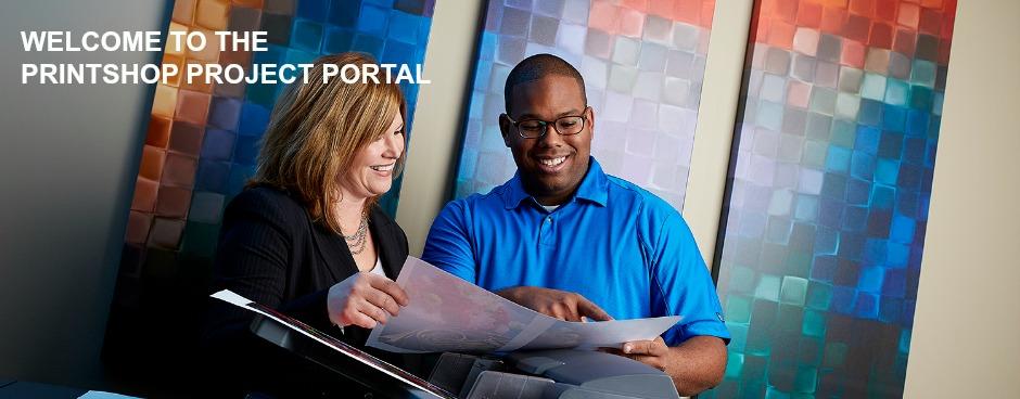 Printshop Project Portal