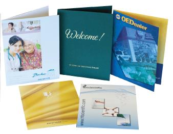 Presentation Folders & Report Covers
