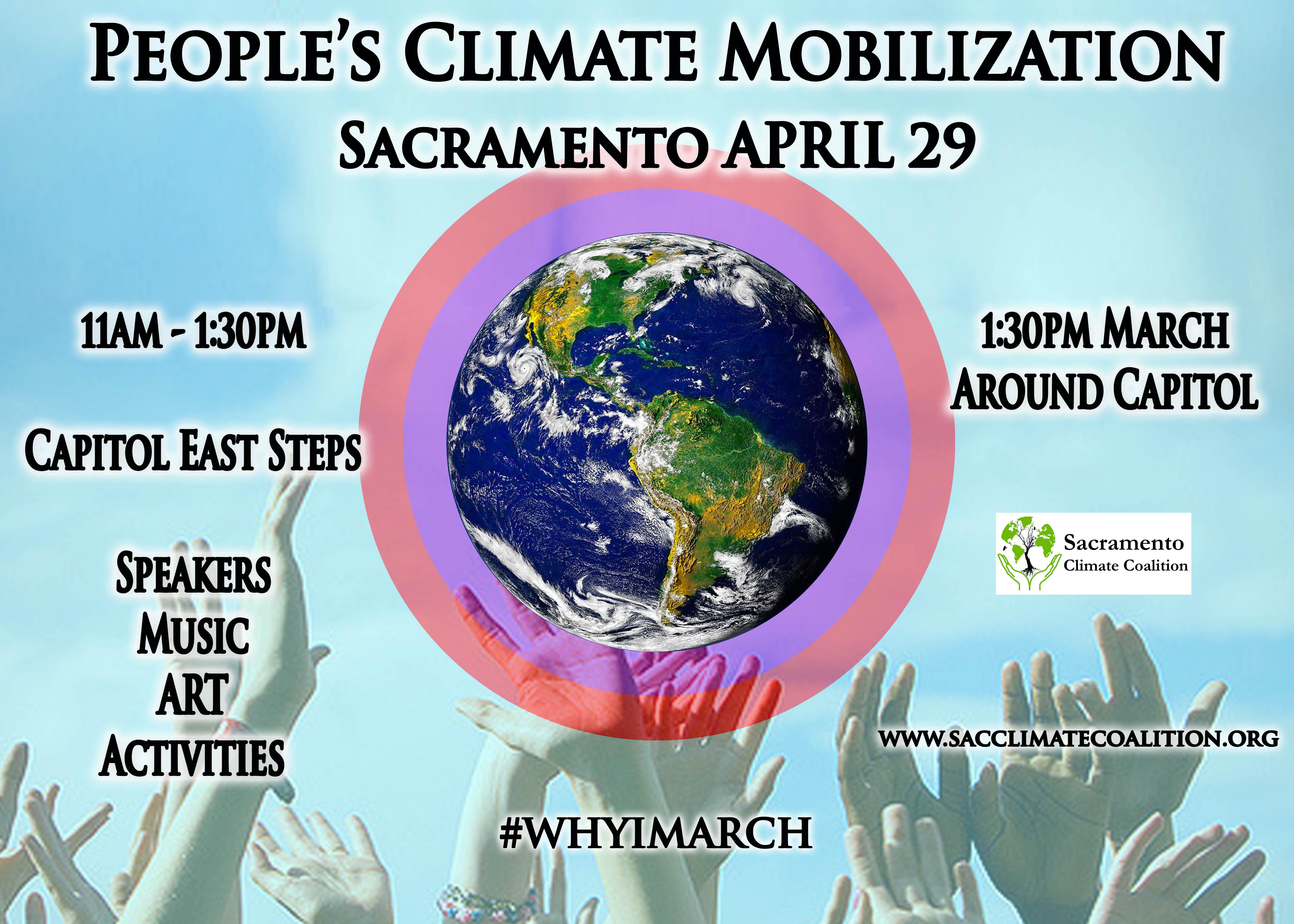People's Climate Mobilization Sacramento