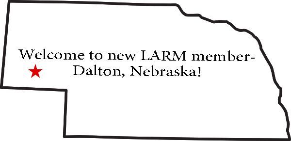 Welcome to our newest LARM member!