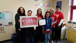 2nd Place: Indian Fields Elementary School