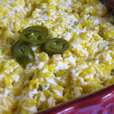 Jalapeño Cream Corn Casserole