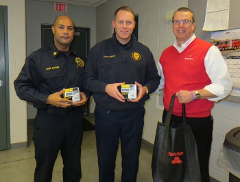 State Farm® Fire Safety Fund provides Smoke & CO Detectors to Licking County Fire Departments