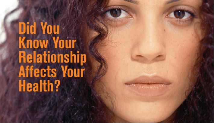 Did You Know Your Relationship Affects Your Health: Reproductive Safety Card