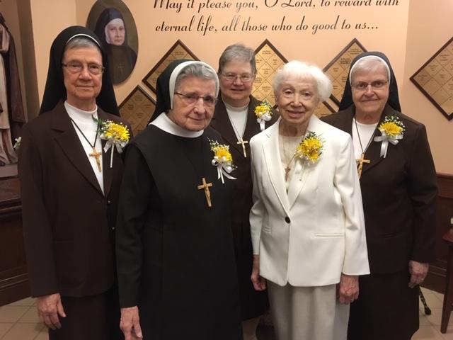 Western Pennsylvania Sisters Celebrate Jubilees