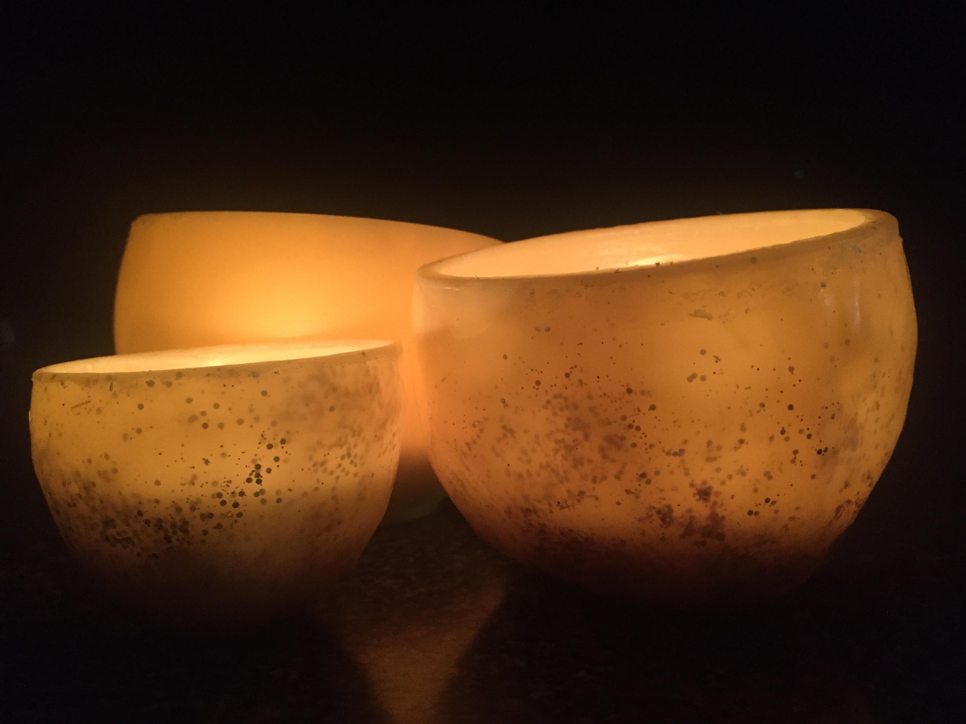 Beeswax Luminaries