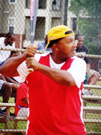 Firehouse Shelter softball ball team loses 11-5 to Aletheia House