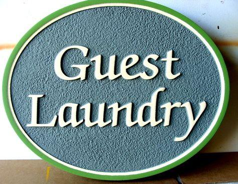 KA20621 - Custom Guest Laundry Room Sign