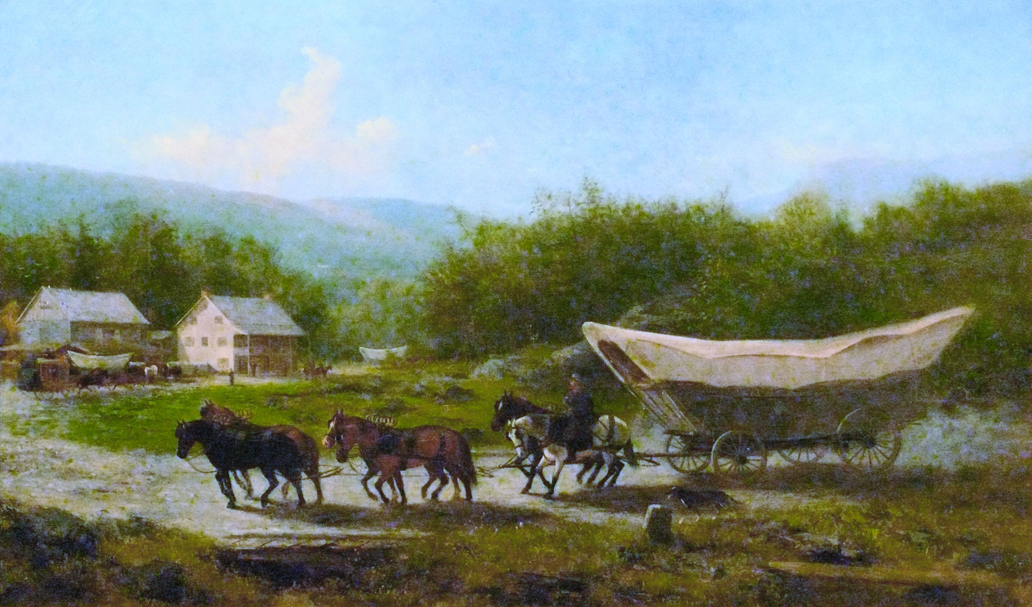 The Conestoga Wagon