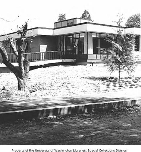 Construction on the new Caroline Kline Galland Home building, Seattle, 1966-1967