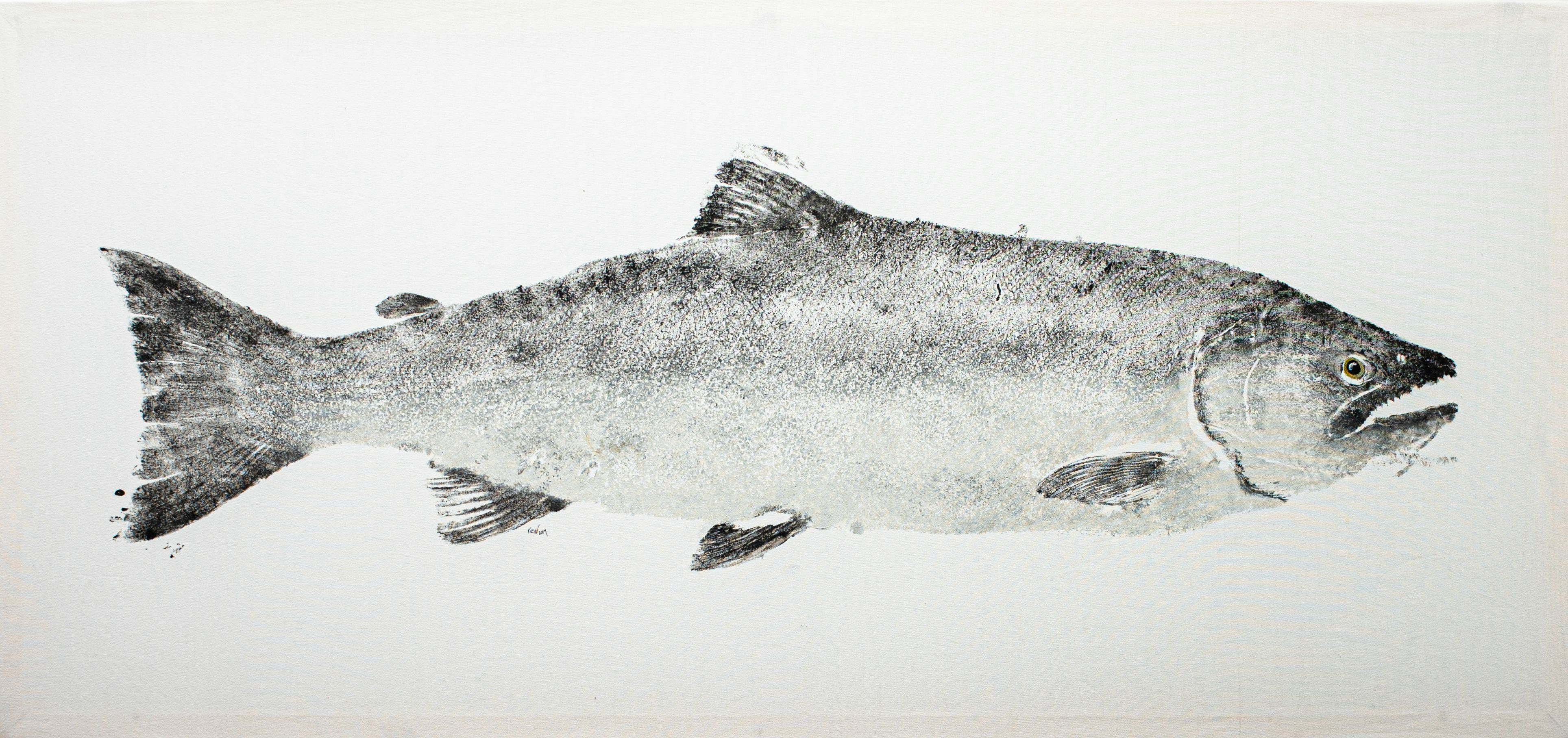 "Rachel Walton - ""Early Season Coho"""