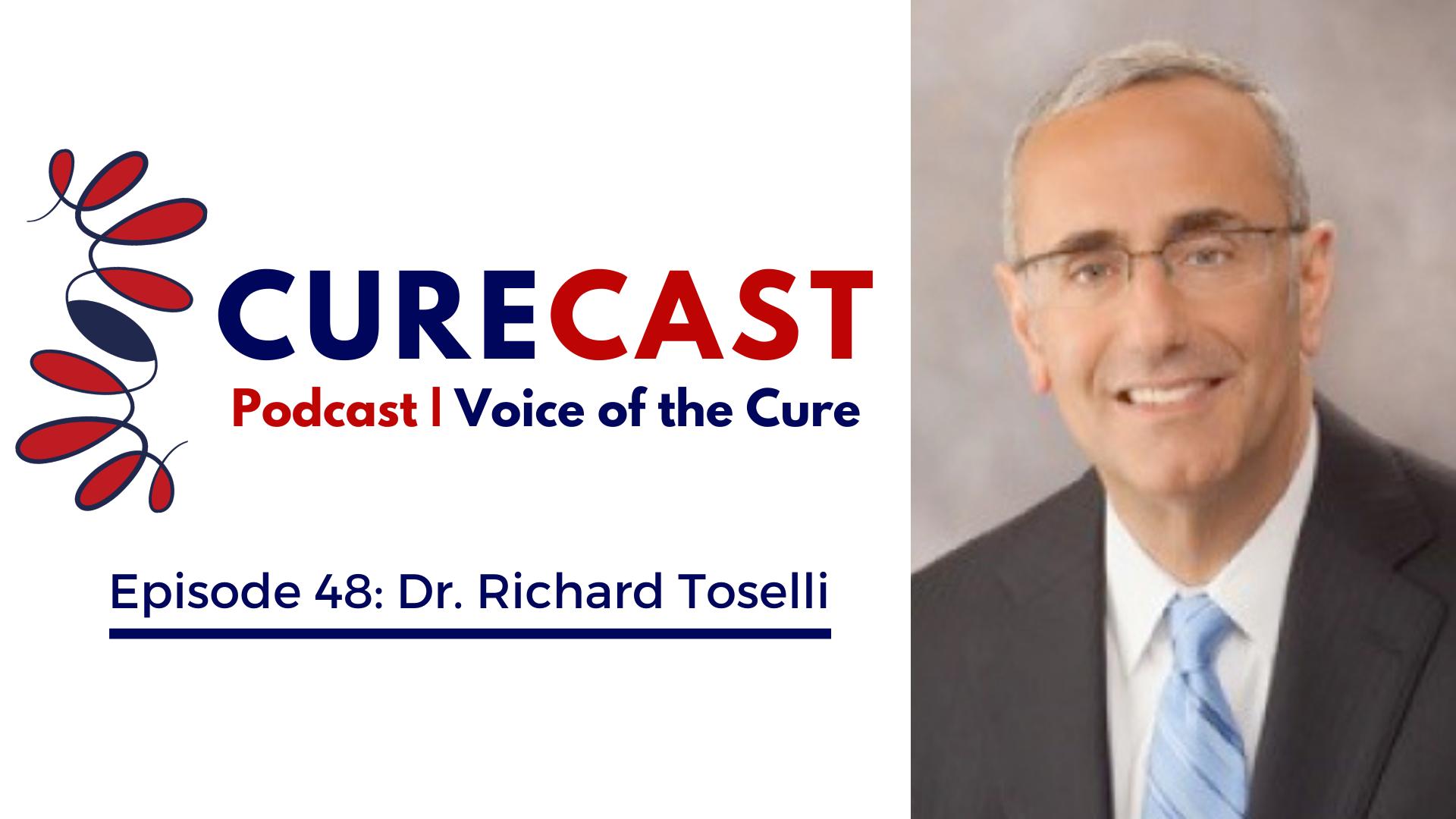 CureCast Epsiode 48: Dr. Richard Toselli - InVivo Therapeutics