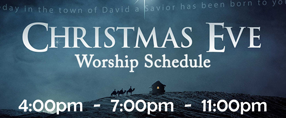 *Christmas Eve Worship