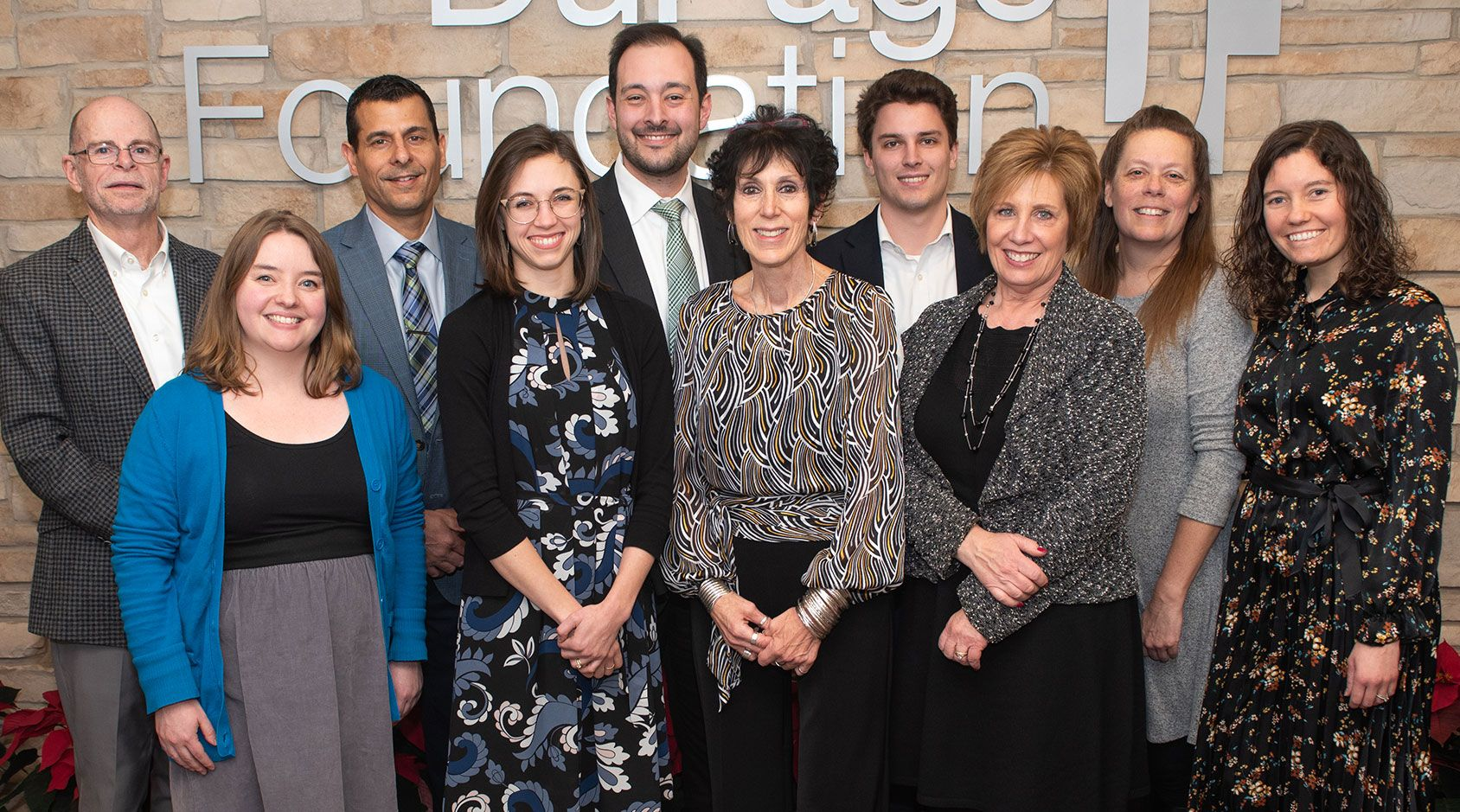 Photo of current DuPage Foundation staff members