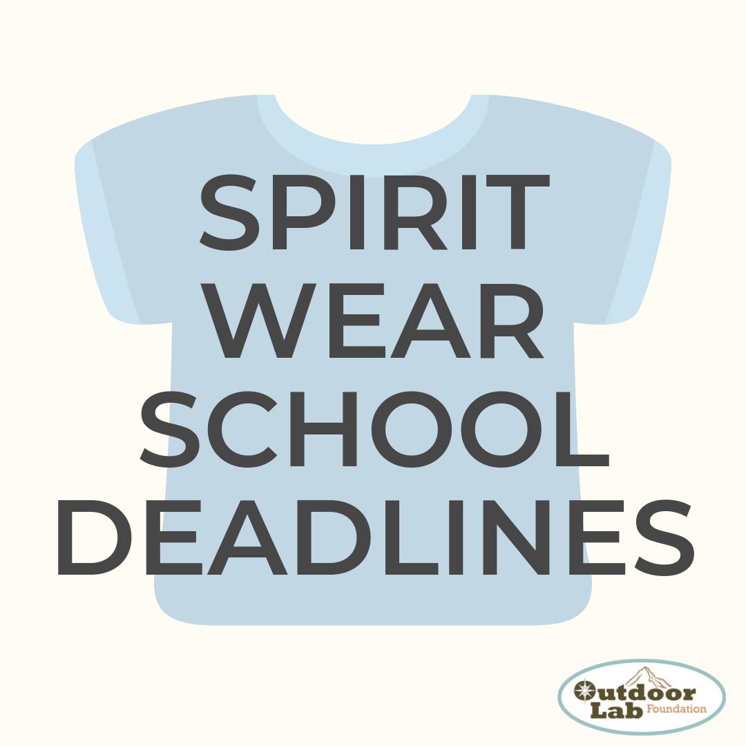 School Deadlines 20-21