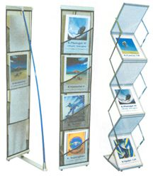 Portable Brochure Holder