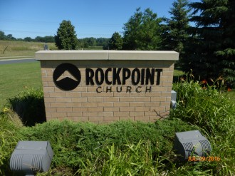 Rockpoint Church Monument Sign