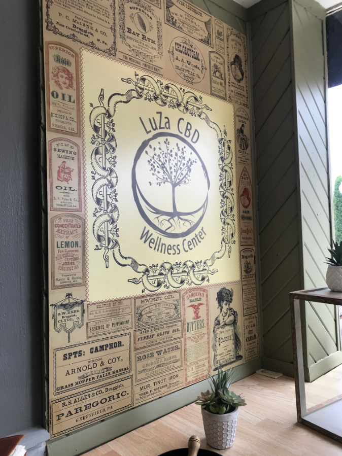 LUZA wall wrap