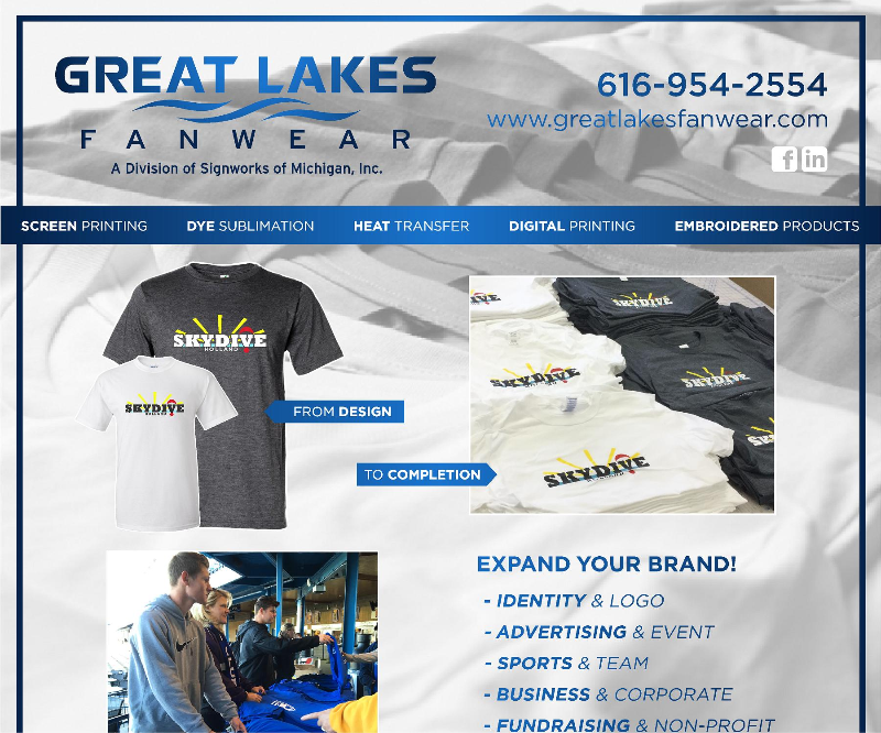 Great Lakes Fanwear Brochure