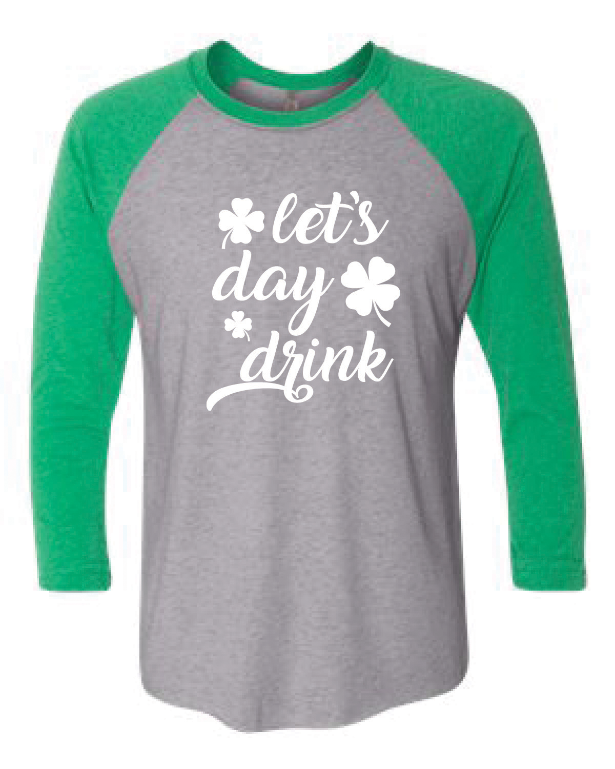 Baseball T-Shirt (LET'S DAY DRINK)