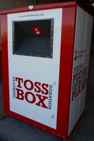 Donation Drop Box