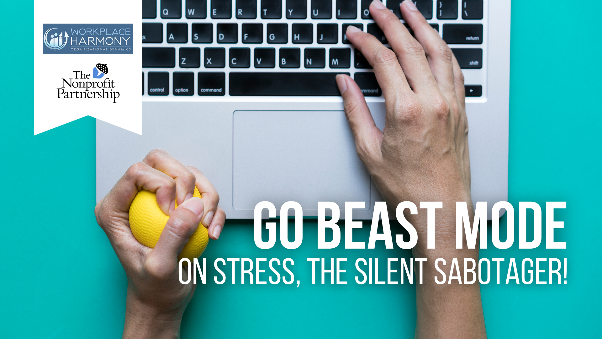 [Zoom Meeting] Go BEAST MODE on Stress, the Silent Sabotager!