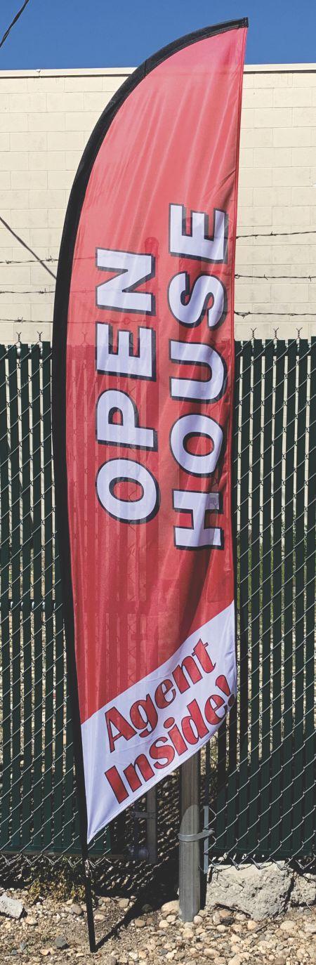 10 Ft Open House Flag
