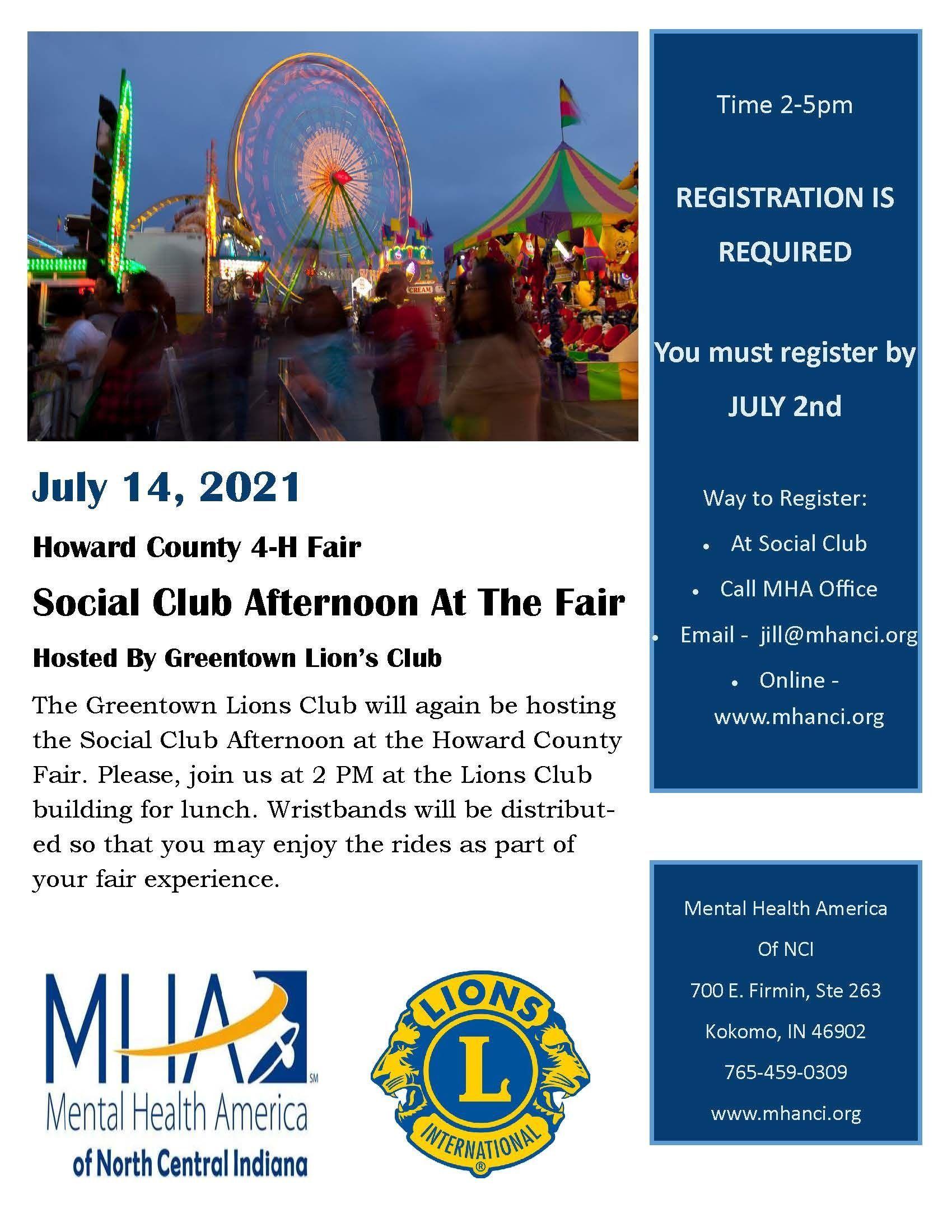 Social Club - Afternoon at the Fair