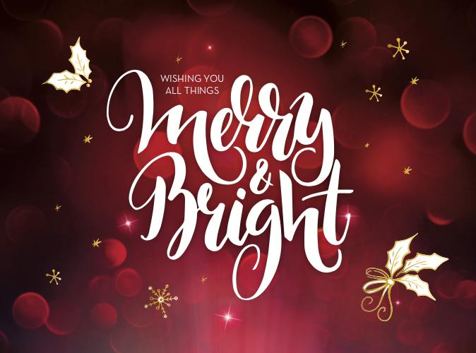 Holiday Lights card