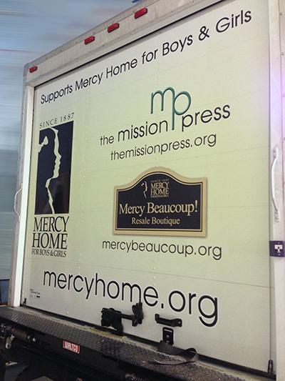 Mercy Truck-Rear