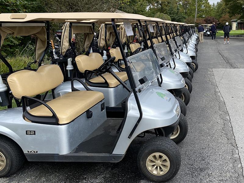 Golf Cart Sponsor $1,500
