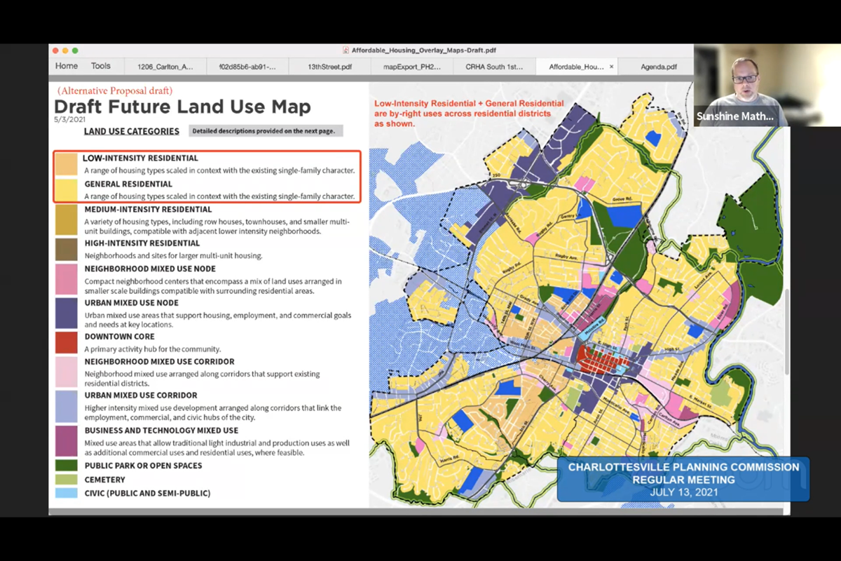 City Planning Commission reviews proposed land use map framework
