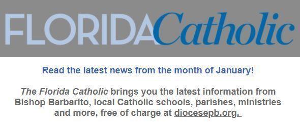 Florida Catholic e-Newsletter - February