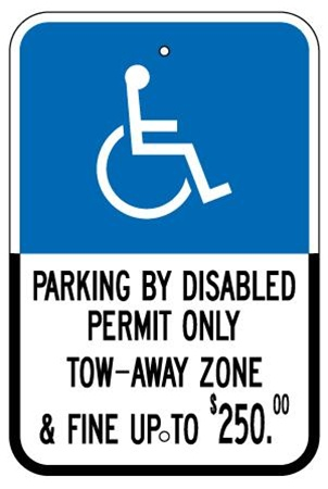 Handicap Parking Signs