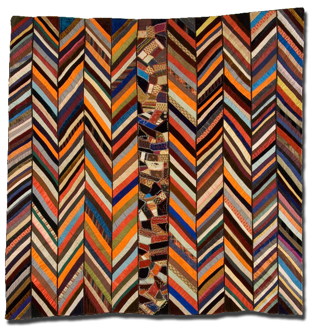 Zig Zag, Maker unknown, Possibly made in Pennsylvania, United States, Circa 1880-1900, IQSC 2003.003.0016