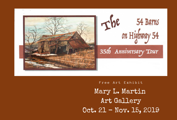 35th Anniversary Tour of The 54 Barns on Highway 54
