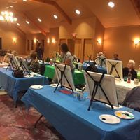 Corks & Canvas Class with Linda Anderson 2018
