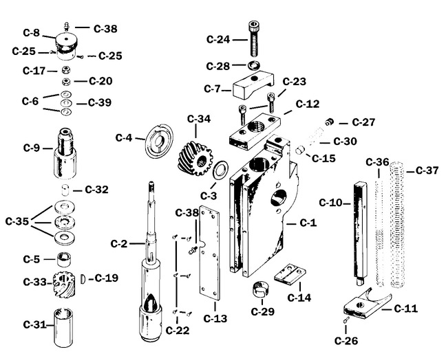 Challenge drill head dissection