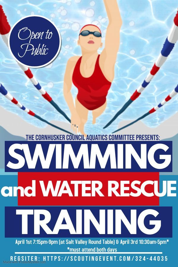 Swimming and Water Rescue Training