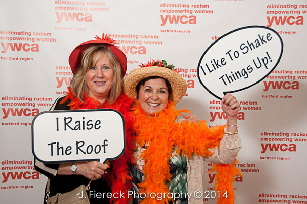 2014 In the Company of Women luncheon Photo Booth